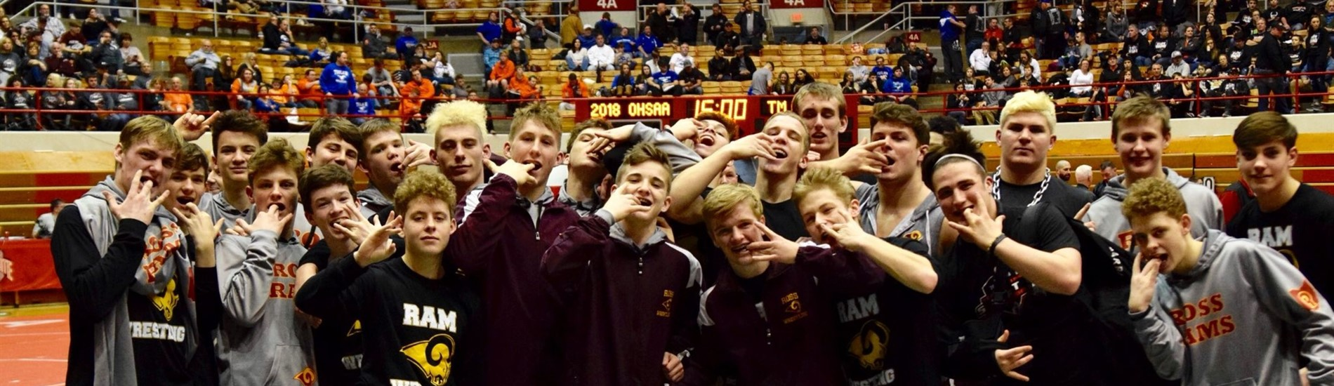 2018 Ram Wrestling at State Duals